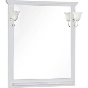 Зеркало с полкой Aquanet Лагуна 85 белое (175305)