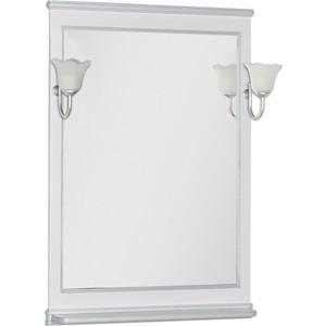 Зеркало Aquanet Валенса 70 белый краколет/серебро (180142)