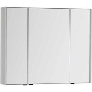 Зеркальный шкаф Aquanet Латина 90 белый (179605)