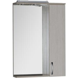 Зеркало-шкаф Aquanet Донна 60 белый дуб (169038) шкаф зеркало aquanet рондо 60 белый 189164