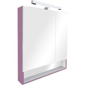 Зеркальный шкаф Roca Gap 80 фиолетовый (ZRU9302753) зеркальный шкаф roca etna 80 с подсветкой 857304445 дуб верона