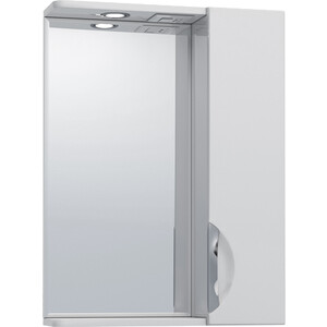 Зеркало-шкаф VIGO Callao №19 500ПР с подсветкой, белый (2000000001951) зеркало шкаф vigo jika 19 800 80х16х70