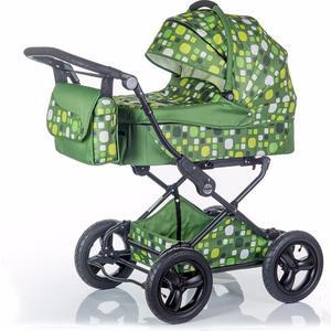 Коляска 2 в 1 BabyHit Evenly Plus Темно-зеленый EVENLY DARK GREEN