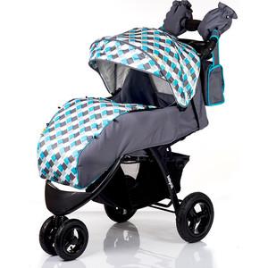 Коляска прогулочная BabyHit Voyage Air Серый с голубым (VOYAGE AIR GREY-BLUE)