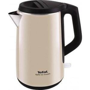 Чайник электрический Tefal KO371 I30 Safe to touch бежевый/черный