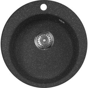 Кухонная мойка AquaGranitEx M-05 (308) черный
