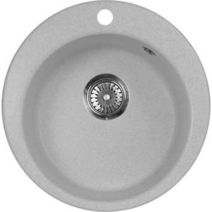 Кухонная мойка AquaGranitEx M-05 (310) серый мойка кухонная aquagranitex m 15 775х495 серый m 15 310