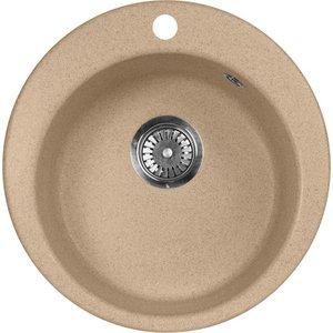 Кухонная мойка AquaGranitEx M-05 (302) песочный