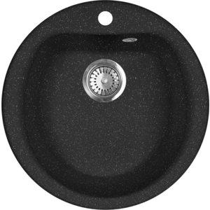 Кухонная мойка AquaGranitEx M-07 (308) черный