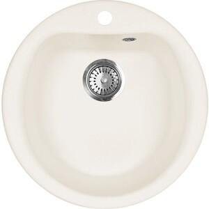 Кухонная мойка AquaGranitEx M-07 (331) белый