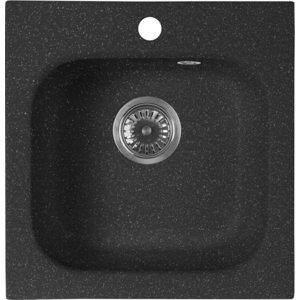Кухонная мойка AquaGranitEx M-43 (308) черный