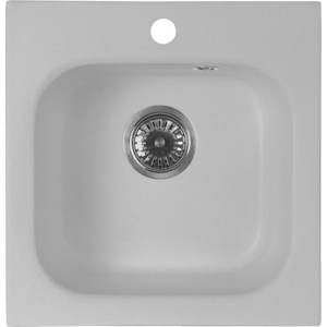 Кухонная мойка AquaGranitEx M-43 (310) серый мойка кухонная aquagranitex m 15 775х495 серый m 15 310