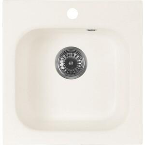 Кухонная мойка AquaGranitEx M-43 (331) белый мойка кухонная aquagranitex m 15 775х495 белый m 15 331