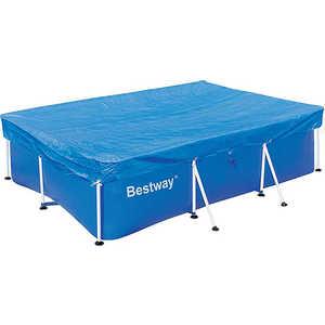 Тент Bestway для каркасных бассейнов прямоугольная 2.59х1.70м (58105) тент bestway для бассейна 3 66м 58034