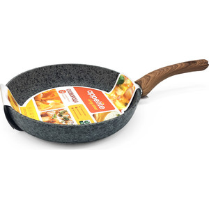 Сковорода d 28 см Appetite Grey Stone (GR2281)