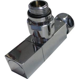 Вентиль запорный угловой Terminus штуцер / гайка 1/2х3/4 (квадрат), 1 штука (0161)