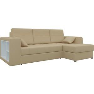 Диван угловой Мебелико Атлантис эко-кожа бежевый правый диван угловой мебелико атлантис эко кожа белый правый