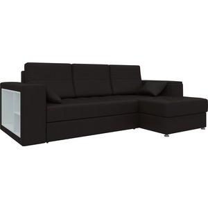 Диван угловой Мебелико Атлантис эко-кожа Коричневый правый диван угловой мебелико атлантис эко кожа белый правый