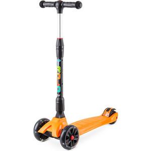 Самокат 3-х колесный Trolo Rapid со светящимися колесами Оранжевый (141605) цены онлайн