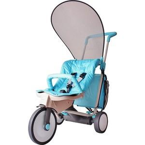 Фото - Велосипед трехколесный ITALTRIKE 3 в 1 EVOLUTION blue полесье велосипед трехколесный дидактик 3 46598 цвет в ассортименте