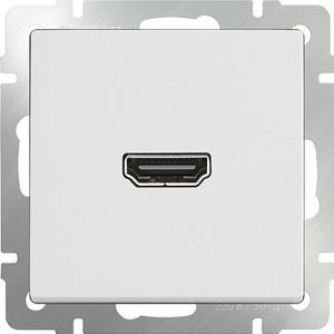 Розетка HDMI Werkel белая WL01-60-11