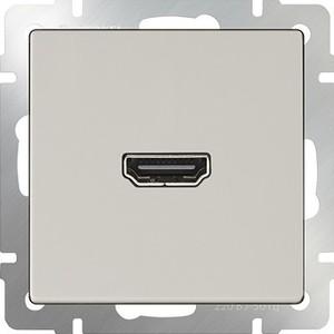 Розетка HDMI Werkel слоновая кость WL03-60-11