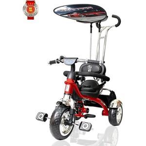 Велосипед трехколесный Lexus Trike trike original RT Grand Print Deluxe New Design колеса EVA, цвет red (красный)