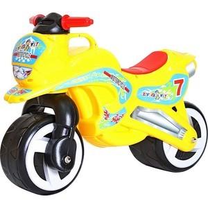 RT 11-006 Беговел MOTORCYCLE 7 желтый