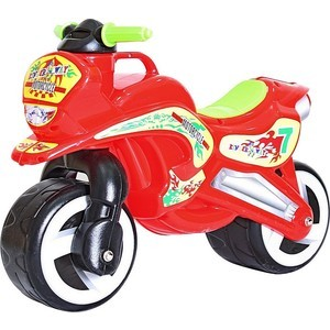 RT 11-006 Беговел MOTORCYCLE 7 красный