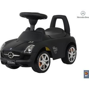 цена на Каталка-автомобиль RT 332Р Mercedes-Benz с музыкой - черный матовый