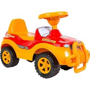 Каталка машинка RT ОР105 Джипик с клаксоном красная global средство от тараканов