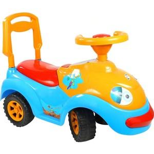 цена на Каталка RT ОР119 Луноходик с музыкальным рулем синяя