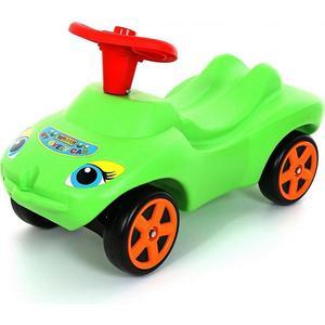 Каталка Wader 44617 Мой любимый автомобиль зеленая со звуковым сигналом