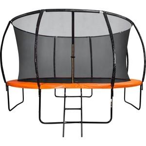 Батут DFC Trampoline Kengoo 10FT-TR-E-BAS с защитной сеткой и лестницей батут sport elite 6ft 1 83м с защитной сеткой