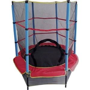 Батут с сеткой DFC Trampoline Fitness 55INCH-TR-E батут dfc trampoline fitness 18 футов с сеткой 549 см