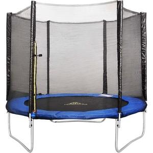 Батут с сеткой DFC Trampoline Fitness 9FT-TR-E батут dfc trampoline fitness 18 футов с сеткой 549 см