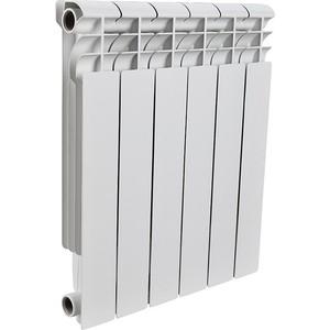 Радиатор отопления ROMMER Profi 500 алюминиевый 6 секций (AL500-80-80-100) радиатор алюминиевый alecord 10 секций 500 70