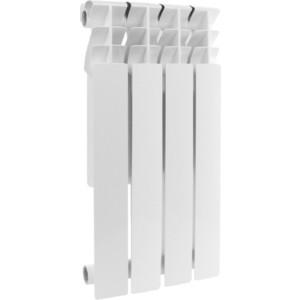 Радиатор отопления ROMMER Profi BM 500 биметаллический 4 секции (BI500-80-80-150)