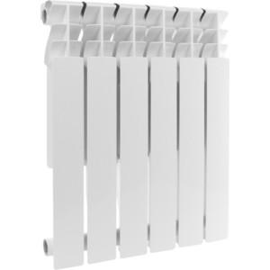 Радиатор отопления ROMMER Profi BM 500 биметаллический 6 секций (BI500-80-80-150)