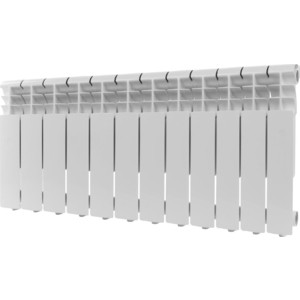 Радиатор отопления ROMMER Profi 350 алюминиевый 12 секций (AL350-80-80-080)