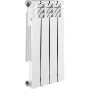 Радиатор отопления ROMMER Optima 500 алюминиевый 4 секций радиатор алюминиевый alecord 10 секций 500 70