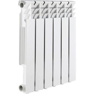 Радиатор отопления ROMMER Optima 500 алюминиевый 6 секций радиатор алюминиевый alecord 10 секций 500 70