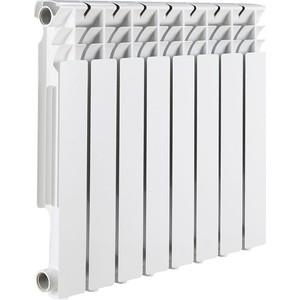 Радиатор отопления ROMMER Optima 500 алюминиевый 8 секций радиатор алюминиевый alecord 10 секций 500 70