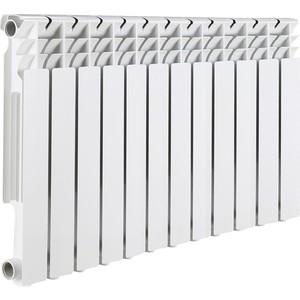 Радиатор отопления ROMMER Optima 500 алюминиевый 12 секций радиатор алюминиевый alecord 10 секций 500 70