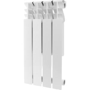 Радиатор отопления ROMMER Plus 500 алюминиевый 4 секций радиатор алюминиевый alecord 10 секций 500 70