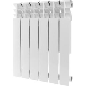 Радиатор отопления ROMMER Plus 500 алюминиевый 6 секций радиатор алюминиевый alecord 10 секций 500 70