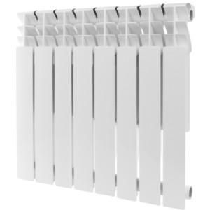 Радиатор отопления ROMMER Plus 500 алюминиевый 8 секций