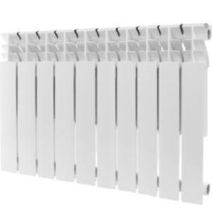 Радиатор отопления ROMMER Plus 500 алюминиевый 10 секций радиатор алюминиевый alecord 10 секций 500 70