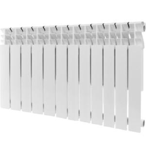 Радиатор отопления ROMMER Plus 500 алюминиевый 12 секций радиатор алюминиевый alecord 10 секций 500 70