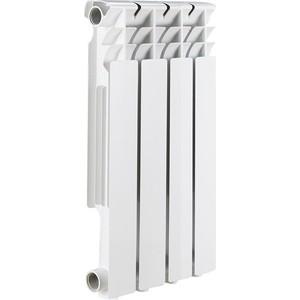цена на Радиатор отопления ROMMER Optima BM 500 биметаллический 4 секций